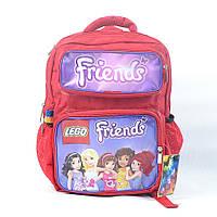 Портфель для девочки модель P01 - красный