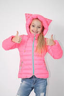 """Демисезонная утепленная детская куртка с капюшоном """"Рокси"""""""