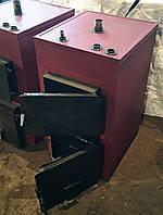 Котел твердотопливный, 15 кВт (обогрев 150 м.кв.)