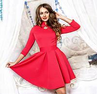 Платье женское юбка клеш 7832