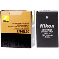 Аккумулятор Nikon EN-EL20 для J1 J2 J3 S1 1V3 AW1