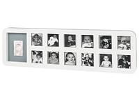 Детская рамка  Baby Art 1st Year Print wite&grey (1-й год жизни), бело-серая