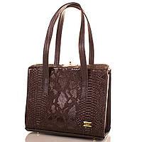 Элегантная женская сумка из качественной искусственной кожи ETERNO Артикул: ETMS35251-10 коричневый