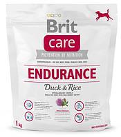 Корм для собак Brit Care Endurance 1 кг, брит для активных собак всех пород