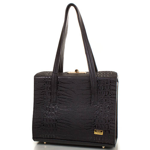 Вместительная женская сумка из искусственной кожи ETERNO ETMS35251-2 черный