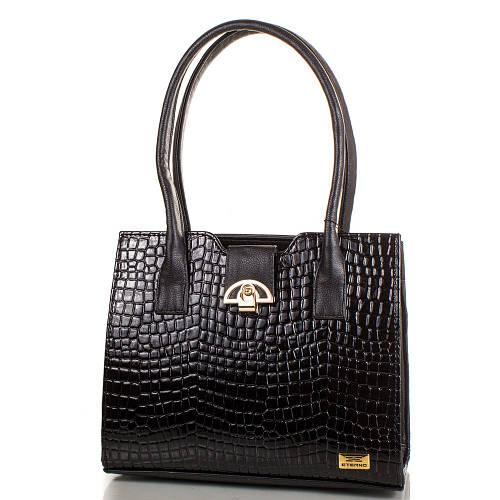 Благовидная женская сумка из искусственной кожи ETERNO ETMS35239-2-2 черный