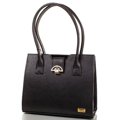 Эффектная женская сумка из качественной искусственной кожи ETERNO Артикул: ETMS35239-2-1 черный