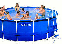 Каркасный бассейн Интекс (Intex) Metal Frame Pool 457*122 см