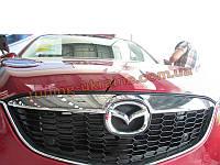 Верхний молдинг решетки радиатора хромированный Mazda CX5 2011+
