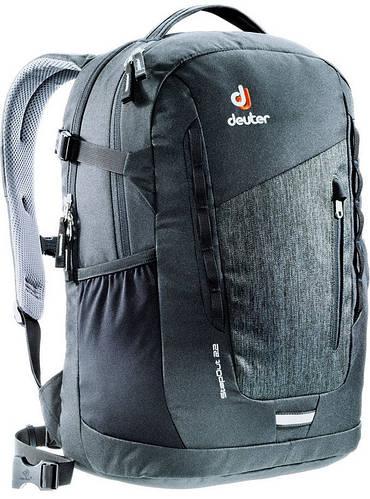 Черный мужской городской рюкзак DEUTER StepOut 22, 3810415 7712