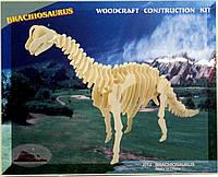 """Деревянные 3Д пазлы """"Брахиозавр"""" J013 Sea Land"""