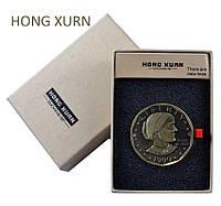 USB Зажигалка HONG XURN монета №4362