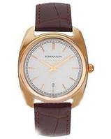 Мужские кварцевые часы с сапфировым стеклом Romanson TL1269MRG WH