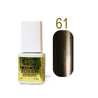 Гель-лак Зеркальный Velena Gelliant №61 (антрацит) 9 мл