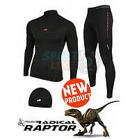 Термобелье Radical Raptor + в подарок шапка. Мультифункциональное термобелье. Комплект термобелья. Код: КЕ431
