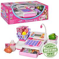 Кассовый аппарат WX 0019 U/R   WX,калькулятор,продукты,деньги,на бат-ке,в кор-ке,45-21-16см