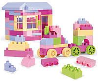 Детский конструктор Wader в розовых тонах (41280)