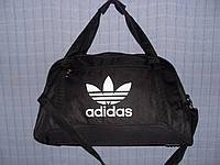 Багажная сумка Adidas 013677 большая (55х33х22, см) черная спортивная дорожная текстиль