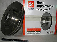 Диск тормозной ВАЗ 2112 передний R14 <ДК>