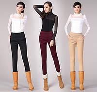 Утеплённые комфортные женские брюки