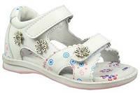 Детские босоножки (сандалии) B&G для девочек белые