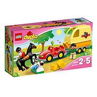 Конструкторы LEGODUPLO Трейлер для лошадок 10807