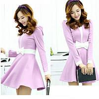Женское платье в романтическом стиле. Модель 05305
