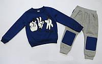 Теплый костюм Mickey Mouse для мальчика. 100, 120 см