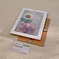 Антирама 105х150мм антирамка безбагетная клямерная рама рамка-клип