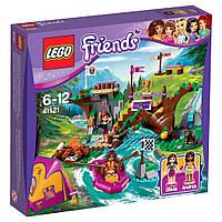 Конструкторы LEGOFriends Спортивный лагерь: сплав по реке 41121