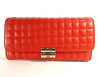 Клатч - сумочка женская кожа PU красная Сhanel 2009