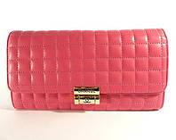 Клатч - сумочка женская кожа PU малиновая Сhanel 2009