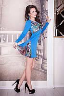 Платье - туника трикотажное