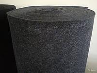 Карпет KICX ширина 1,4м. Антрацит (тёмно-серый). Режим под заказ.