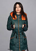 Зимняя женская молодежная куртка - парка, разные цвета