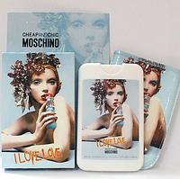 Женский парфюм в фоточехле Moschino I Love Love