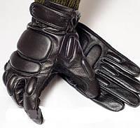 Перчатки тактические усиленные с пальцами на утеплителе, фото 1