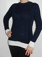 Вязанный свитер шерстяной женский зима (3 цвета) рр. 44, 46, 48