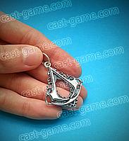 Кулон Assassin's creed (Медальон Коннора) в комплекте с шёлковым шнурочком
