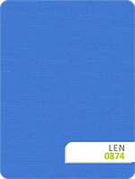 Рулонные шторы Len 874 синий