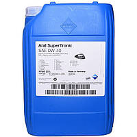 Масло моторне Aral SuperTronic 0W-40 20л