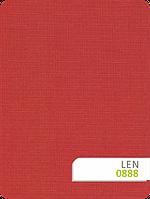 Рулонные шторы Len 888 красный