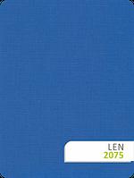Тканевые ролеты с тканью Len 874 синий