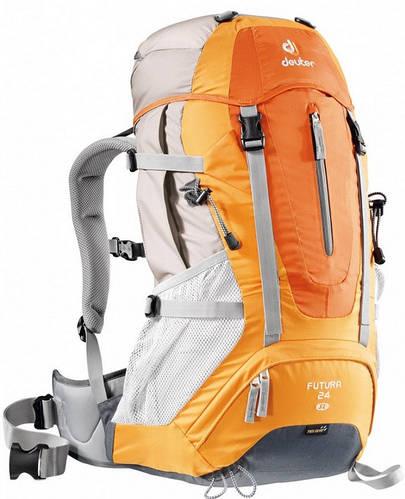 Удобный туристический женский рюкзак DEUTER Futura 24 SL 34228 9910 оранжевый