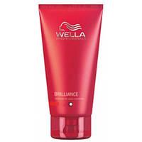 Wella Professionals Brilliance - Wella Интенсивный кондиционер Велла Бриллианс для тонких и нормальных окрашенных волос (лучшая цена на оригинал в