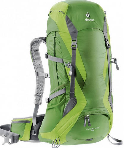 Прочный треккинговый рюкзак DEUTER Futura Pro 36, 34274 2208 зеленый