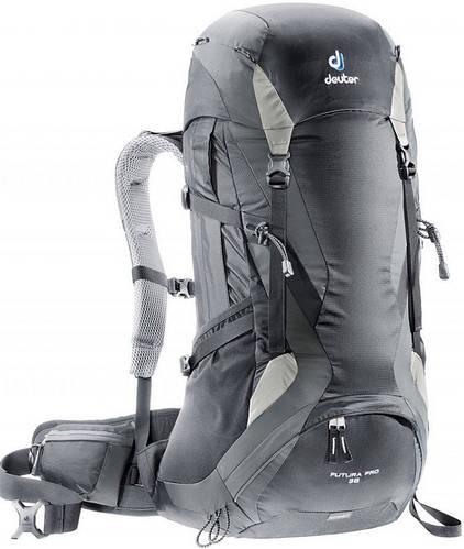 Практичный треккинговый рюкзак DEUTER Futura Pro 36, 34274 7410 черный