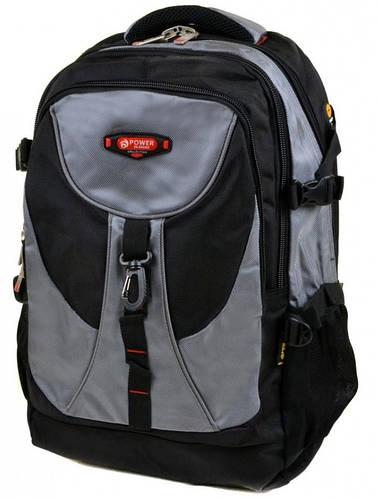 Функциональный городской рюкзак из нейлона Power In Eavas 38 л. 8716 grey