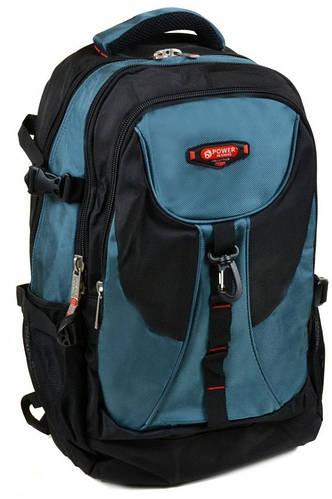 Прекрасный городской рюкзак из нейлона Power In Eavas 38 л. 8716 light-blue