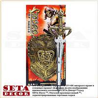 """Набор """"Орк, Властелин колец"""": щит и меч"""